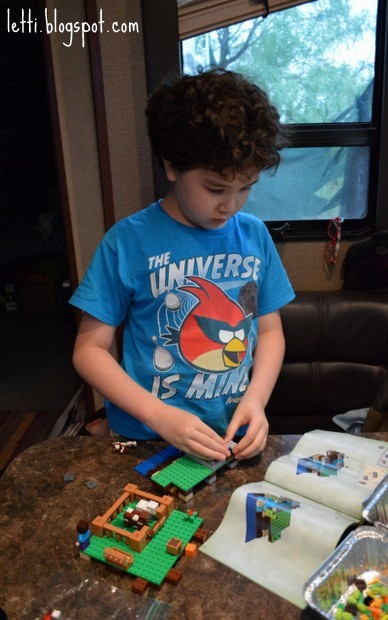 August 26 Lego Minecraft3