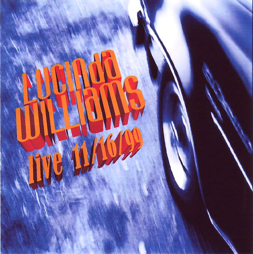 Lucinda Williams Boston 1999-11-16 front