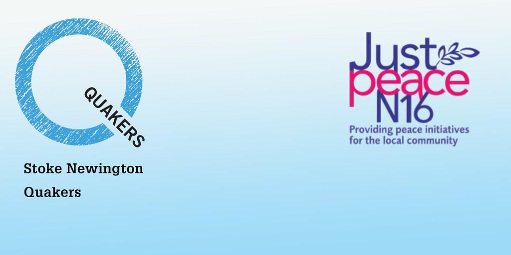 SN Q & Just Peace logos