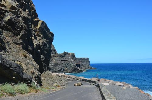 Das Ende der Straße zum Castillo