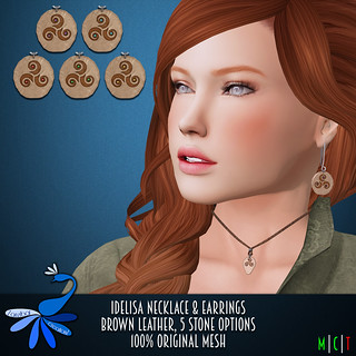 ZcZ Idelisa Set - brown