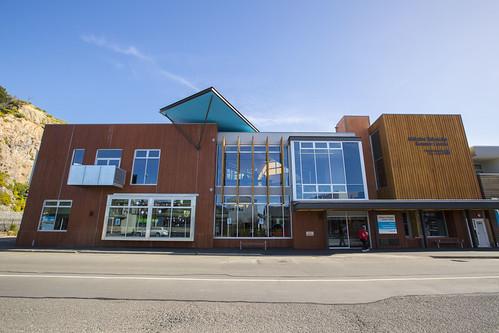 Matuku Takotako: Sumner Centre, from Nayland St