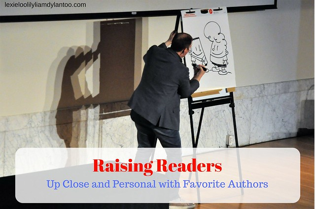 Raising Readers: Up Close and Personal with Favorite Children's Author's & Illustrators presented by #Pittsburgh Arts & Lectures {AD} #WordsAndPictures #Reading #Books #kidlit #captainunderpants