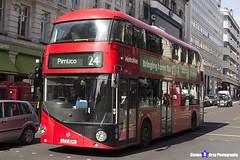 Wrightbus NRM NBFL - LTZ 1024 - LT24 - Pimlico 24 - Metroline - London 2017 - Steven Gray - IMG_5745