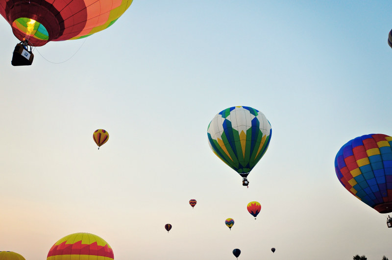 Hot Air Balloon Launch (2) @ Mt. Hope Chronicles