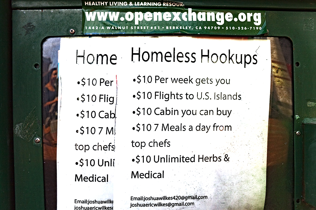 Homeless Hookups--Berkeley