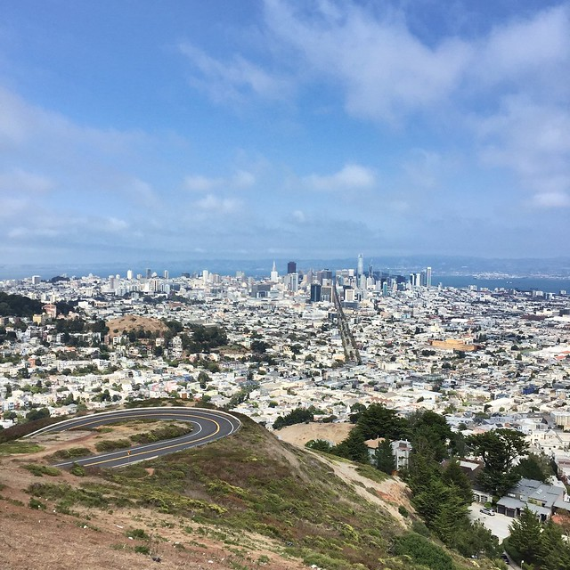 San Francisco viewed from Twin Peaks
