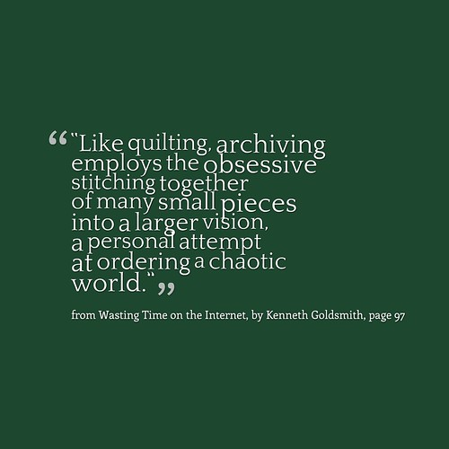 Goldsmith Quote3 Archiving