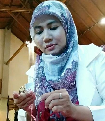 Belajar Merajut di Gendhis Bag