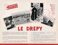 André Pierrat (P.A.C.), Drépy, prospectus (France, 1945 - 1950)