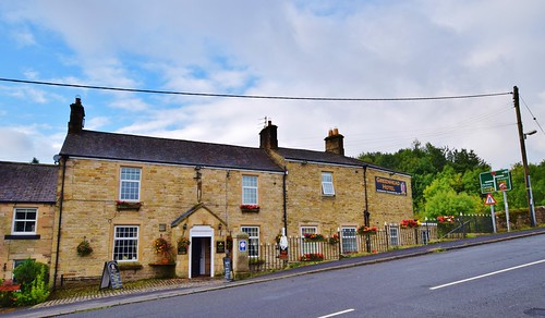 Greenhead Hostel and Hotel - the hotel and pub across the road