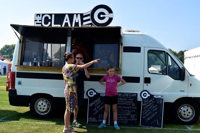 Clam Catering Co. at We Love Hythe Food Festival | www.rachelphipps.com @rachelphipps