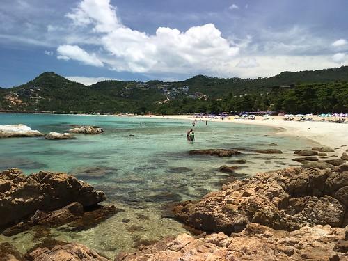 コサムイ チャウエンノイビーチ chaweng noi beach kohsamui