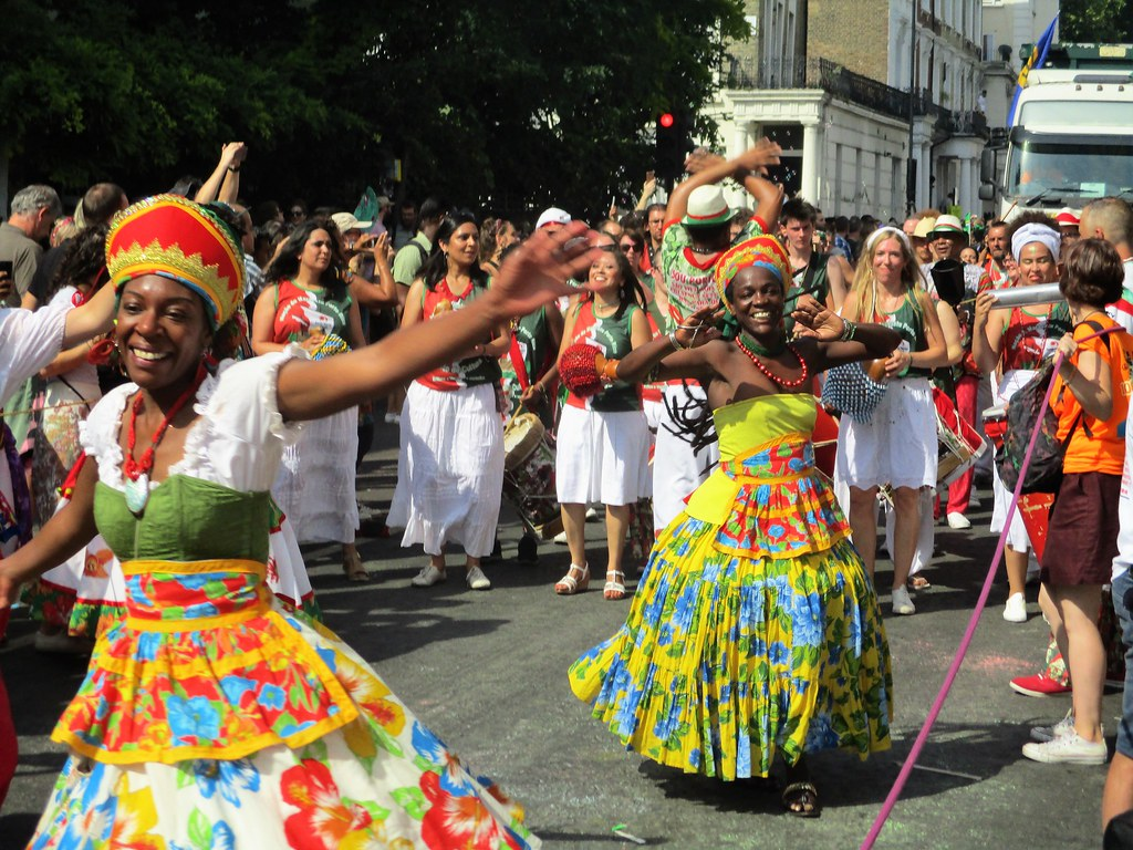Notting Hill Carnival Dancers 2017