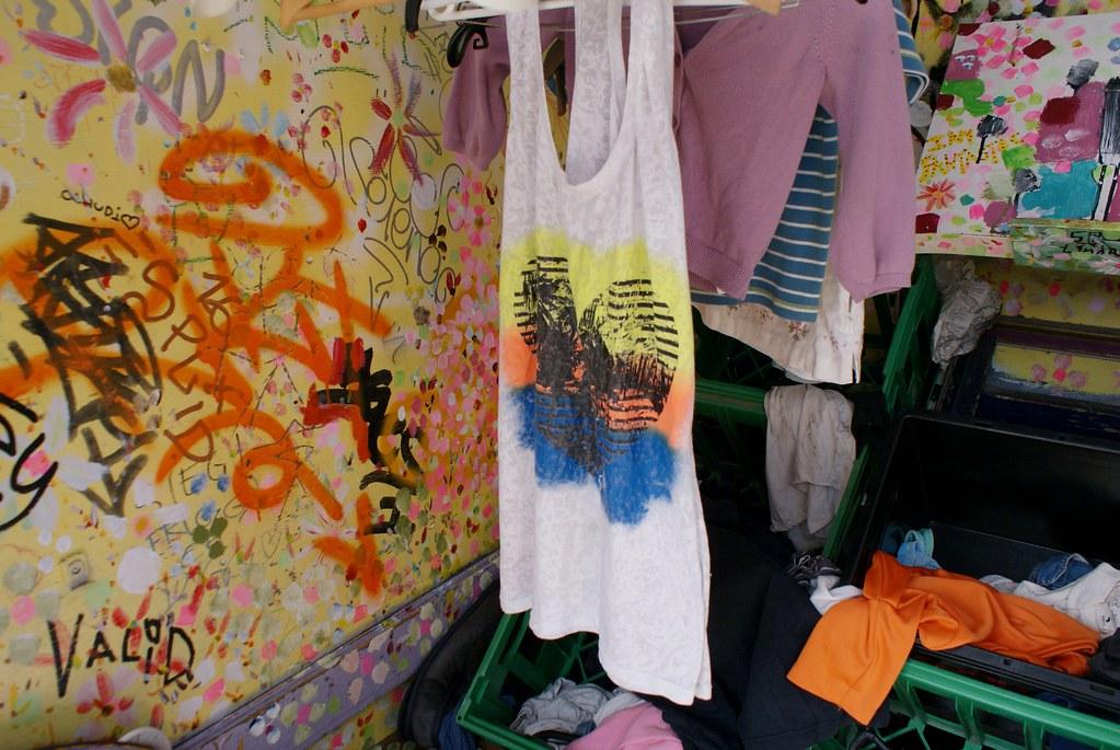 Boite à partage dans le quartier de Christiania à Copenhague.