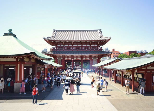 japan itinerary travel guide sensoji temple