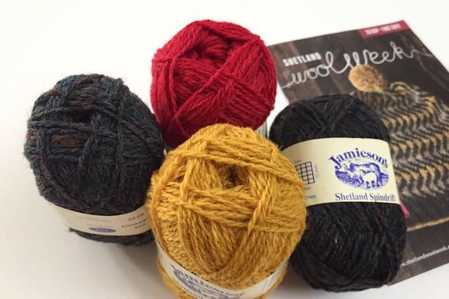 Shetland Wool Week Hat Yarn