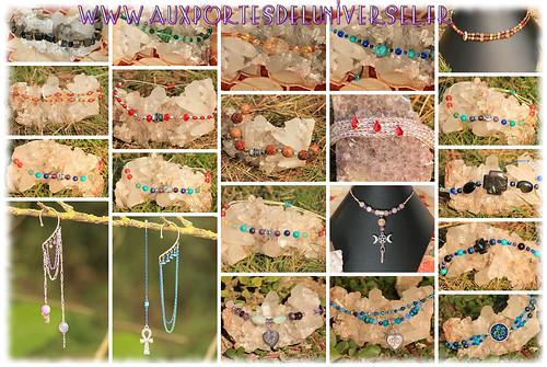 Aux Portes de l'Universel Bijoux et créations en pierres naturelles