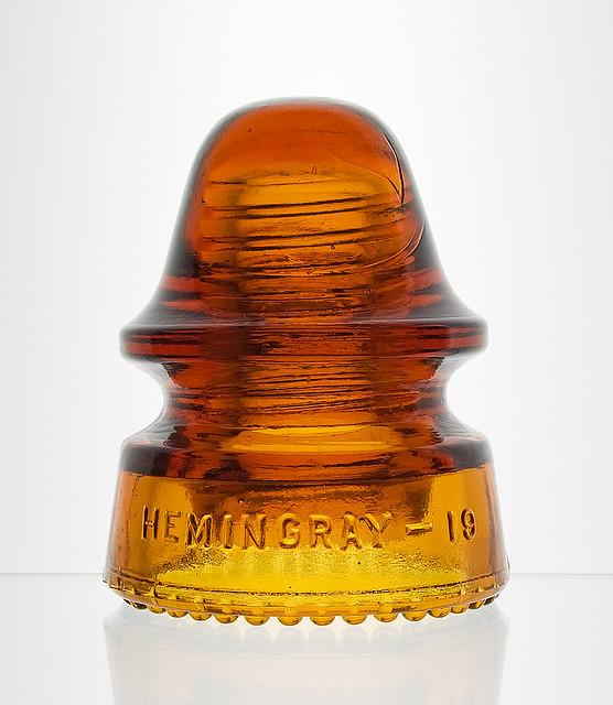 CD 162, HEMINGRAY, Orange Amber