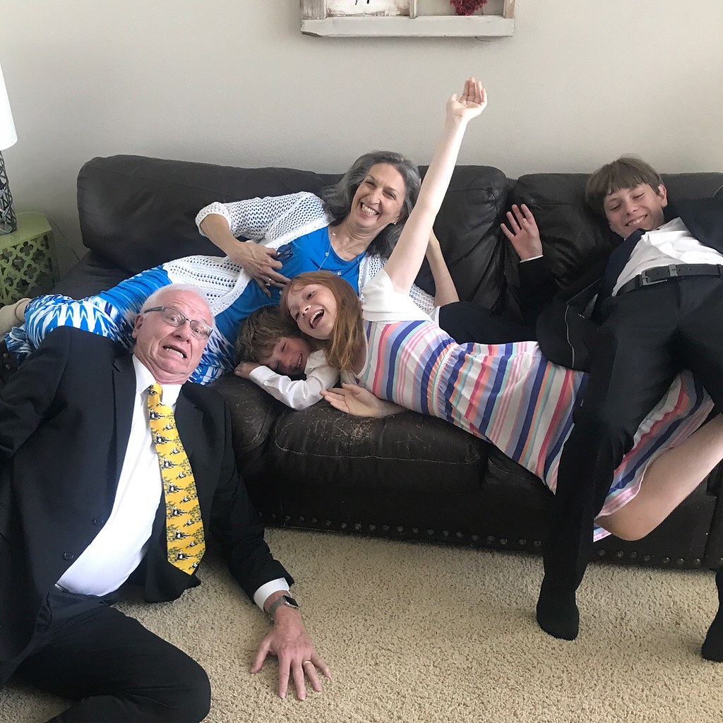 silly grandparent picture