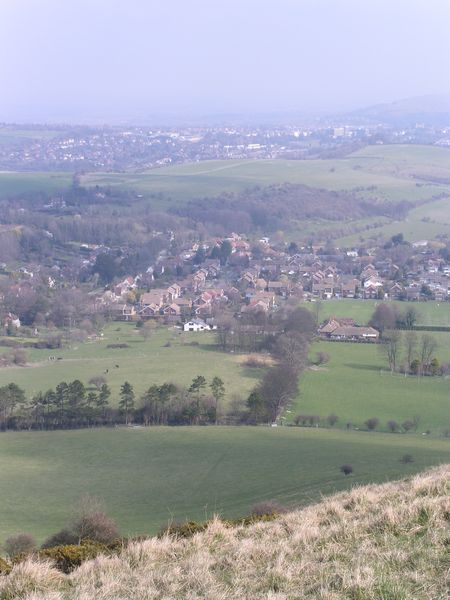 Looking back to Lewes