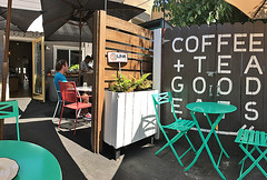 Mint and Honey - Outside seating