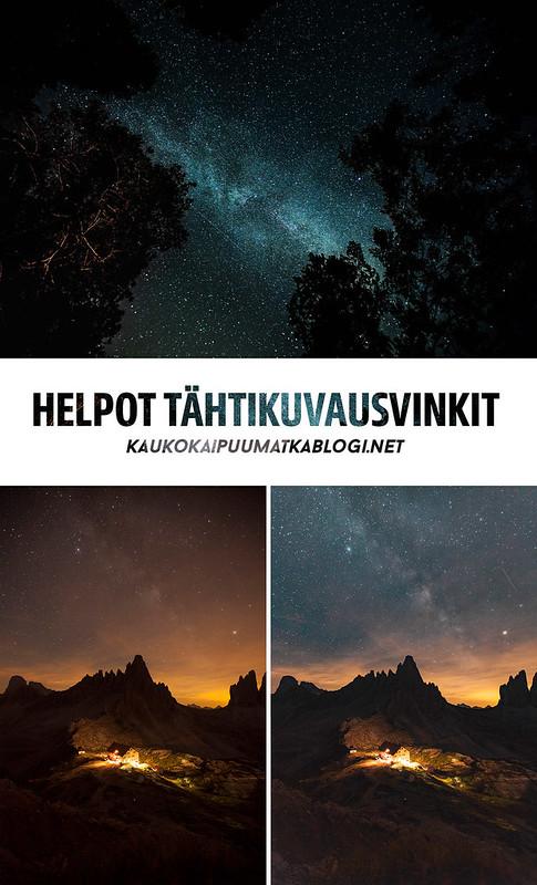 Tähtikuvaus | Tähtivalokuvaus
