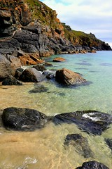Colours of Cornwall waters