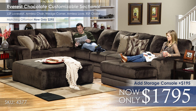 Everest Customizable Sectional 4377