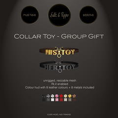 S&P Collar Toy - GROUP GIFT