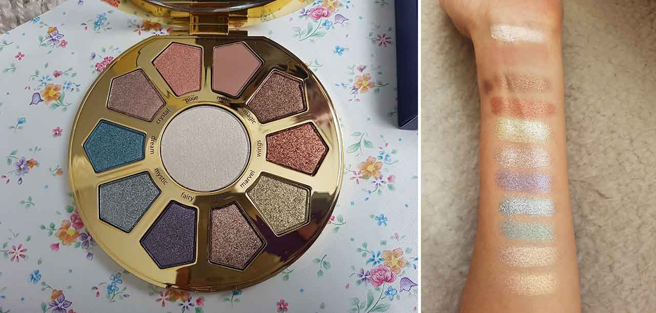 The Beauty That Is Tarte Cosmetics - The Eye And Cheek Palette: This is a gorgeous multicoloured mix of eyeshadows and a highlighting shade. It is inspired by Unicorns, a massive makeup theme at the moment! The eye shadows are made up of one matte shade, and a variety of pearl, metallic and iridescent shades. All the colours are very buttery and pigmented and blend together easily. It's the ideal palette for Spring and Summer!