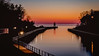 Sundown along the Pier by T P Mann Photography