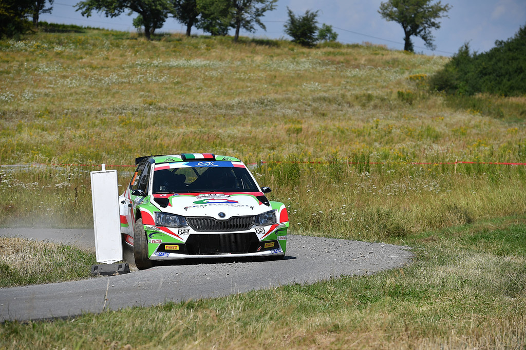 33 RENDINA Max (ITA) INGLESI Emanuele (ITA) Skoda Fabia R5 action during the 2017 European Rally Championship Rally Rzeszowski in Poland from August 4 to 6 - Photo Wilfried Marcon / DPPI