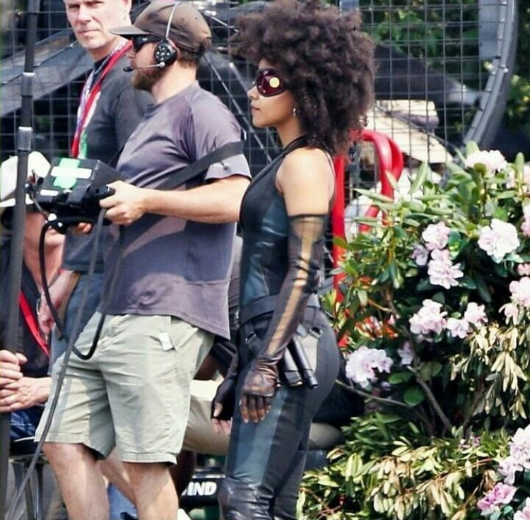 Zazie Beetz DOMINO Deadpool2 04