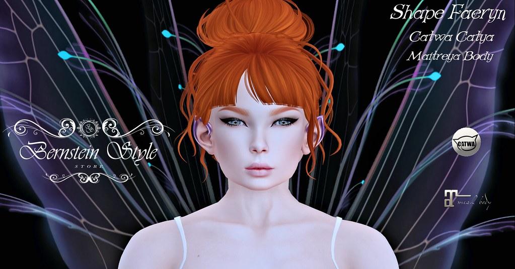 .:BS:. Shape Faeryn Fairy - Catwa Catya Bento - Maitreya Body. - SecondLifeHub.com