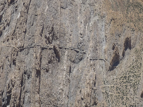 Very steep track