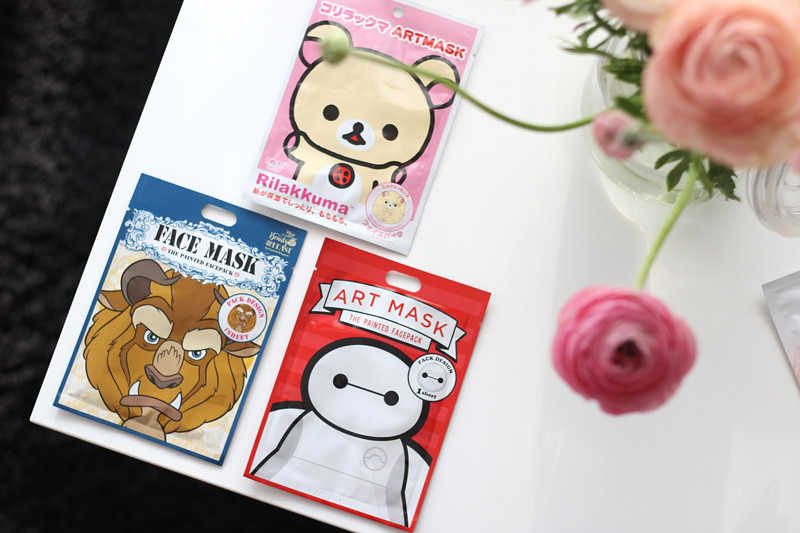 Japan Sheet Mask Haul - Art Mask Rilakkuma and Disney