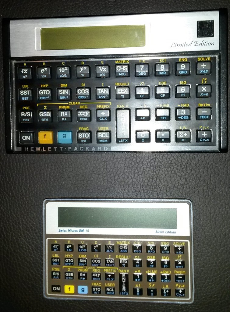 SwissMicros RPN Calculators | Field Notes