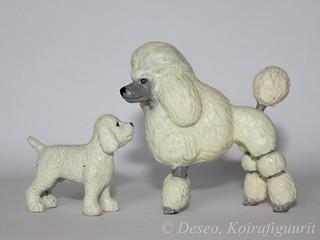 Kid Kore Poodle white