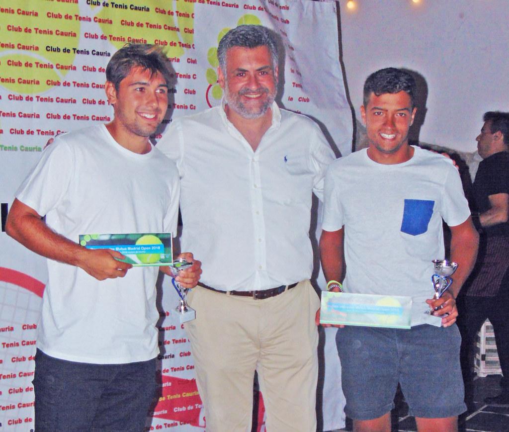 David Martín Escudero Campeón Individual del XXXI Torneo Abierto de Tenis Ciudad de Coria