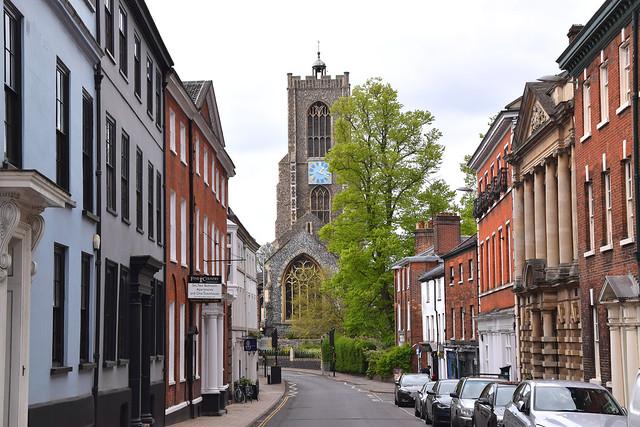 St Giles, the urban context