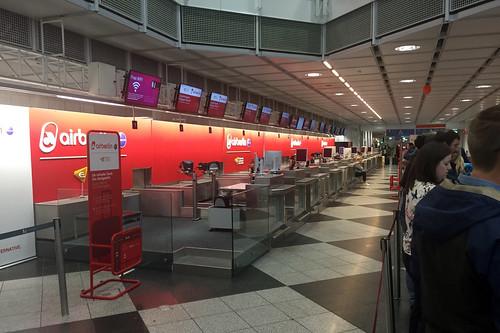 02 - CheckIn - AirBerlin - Flughafen München
