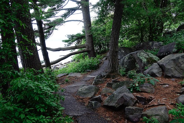 Tumbled Rocks Trail, Devil's Lake
