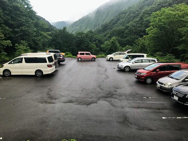 銚子ヶ峰 石徹白登山口 駐車場