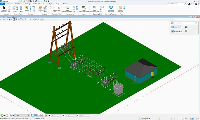 PNA_13_CONNECT Edition of Bentley Substation Improves Electrical Design through Workflow Updates and Collaborative Engineering (1)