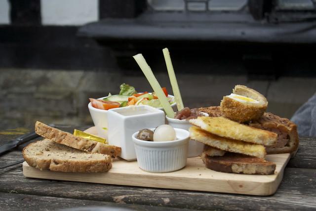 Ploughman's lunch…