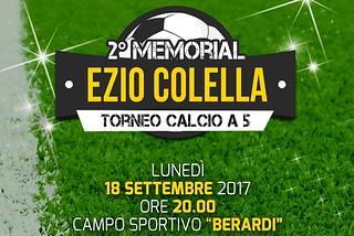 Noicattaro. Memorial Ezio Colella front
