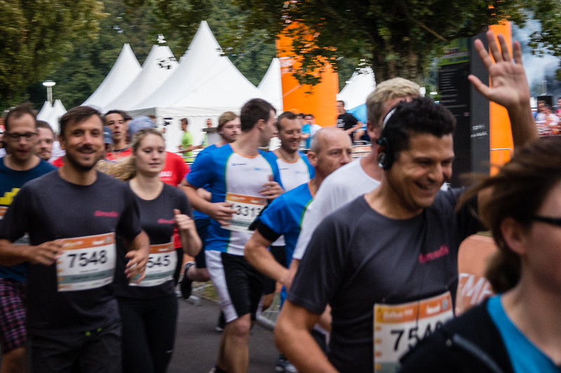 dimedis beim B2R BusinessRun 2017