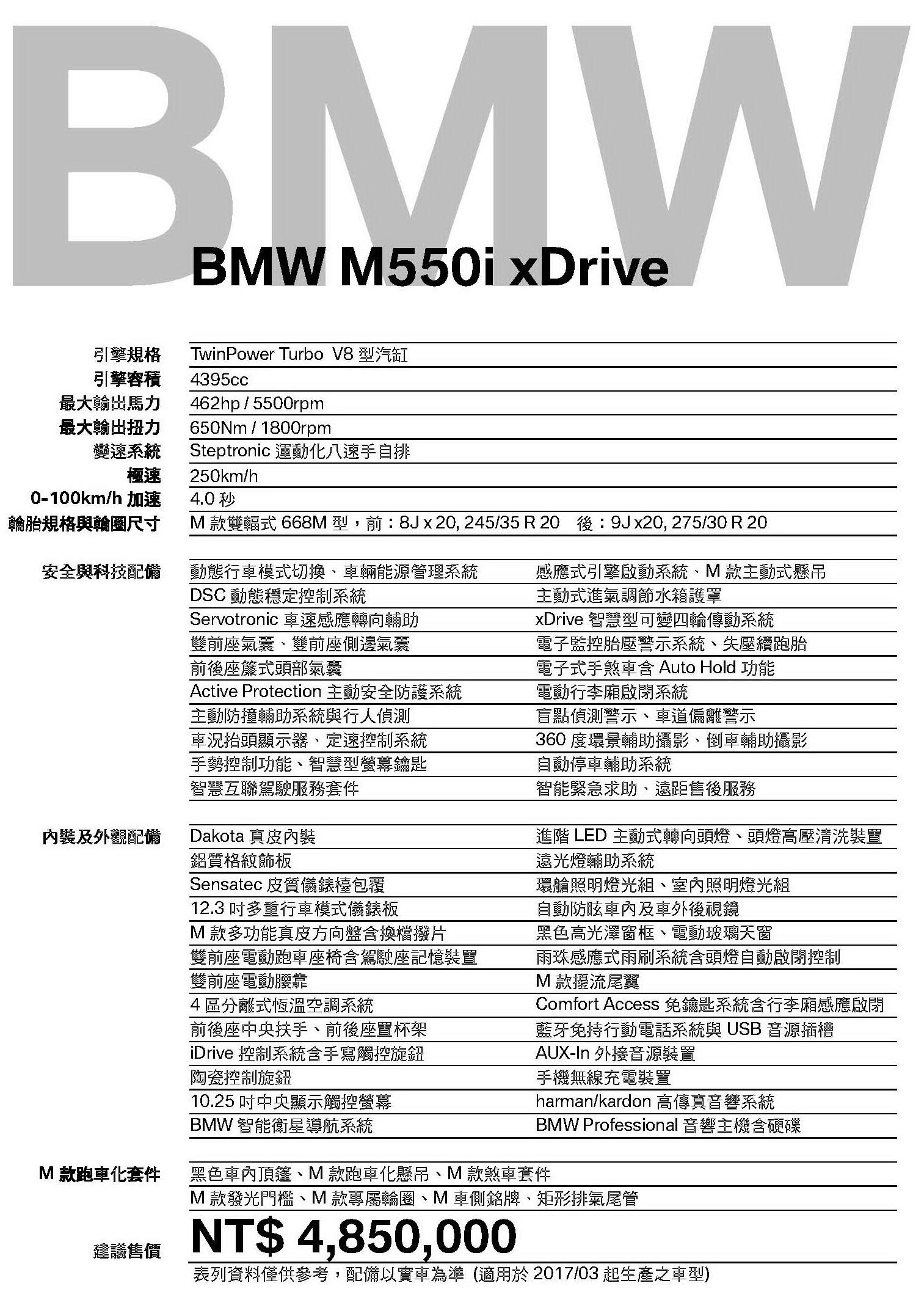 車展表M550i xDrive_2017-03__485