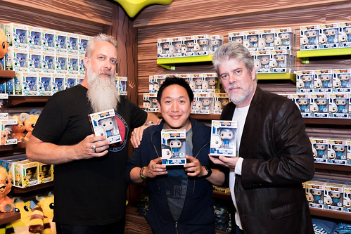 Kevin Smith & Comic Book Men at Funko HQ!